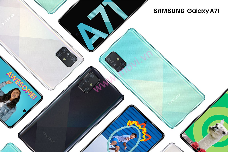 Mua trả góp Samsung Galaxy A71
